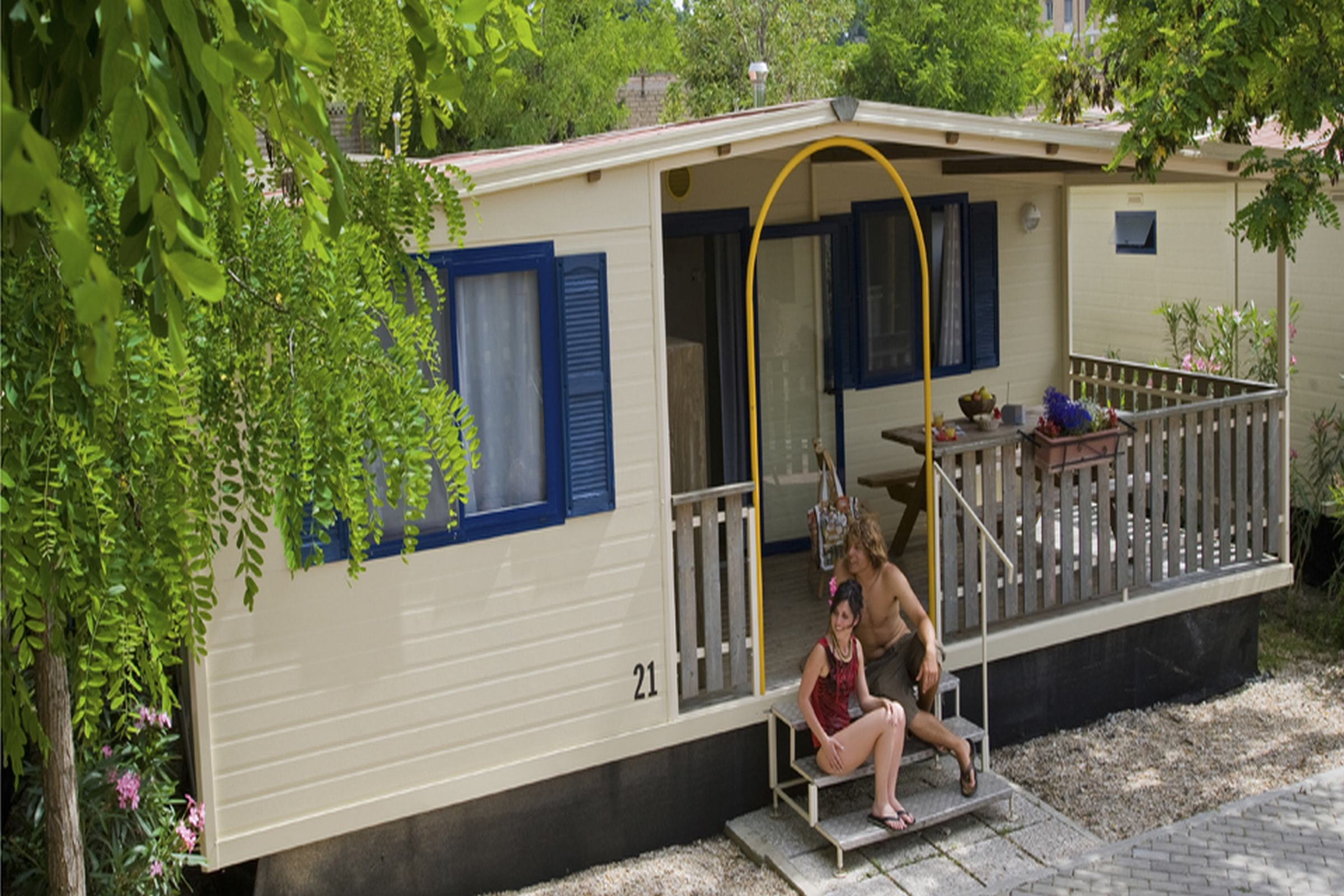 Chalet Camping Roma