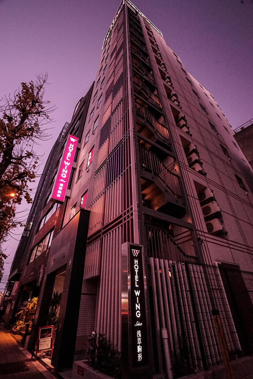 Hotel Wing International Select Asakusa Komagata, Taitō