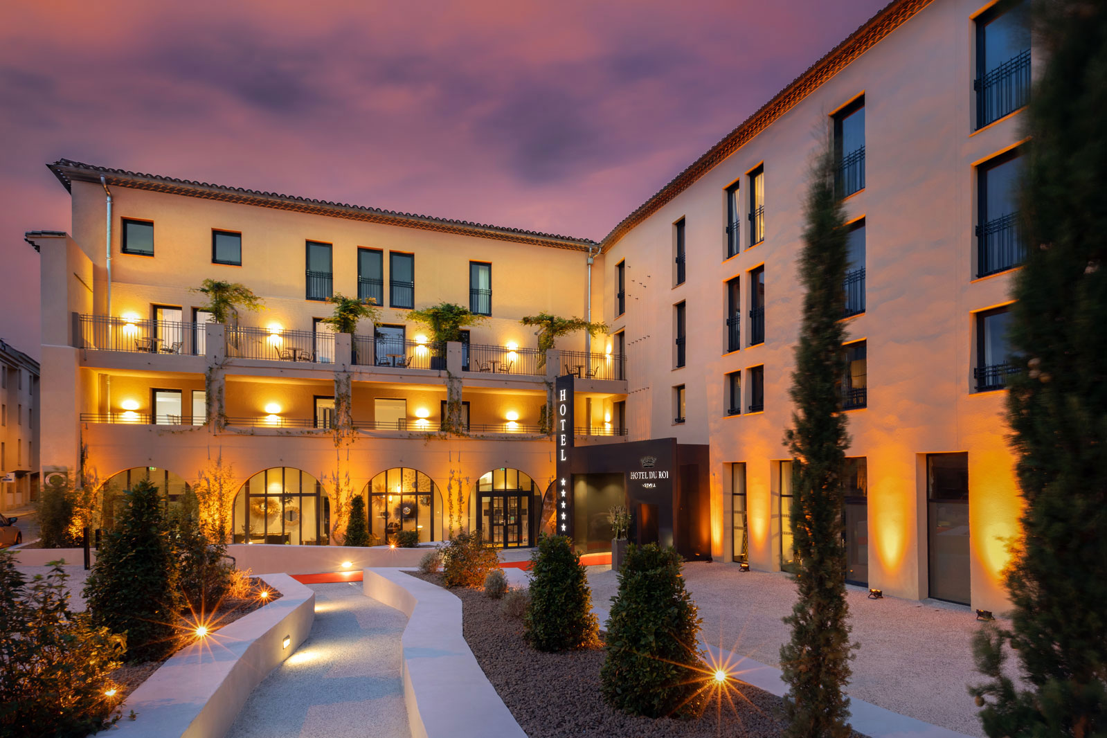DoubleTree by Hilton Carcassonne, Diinsoor