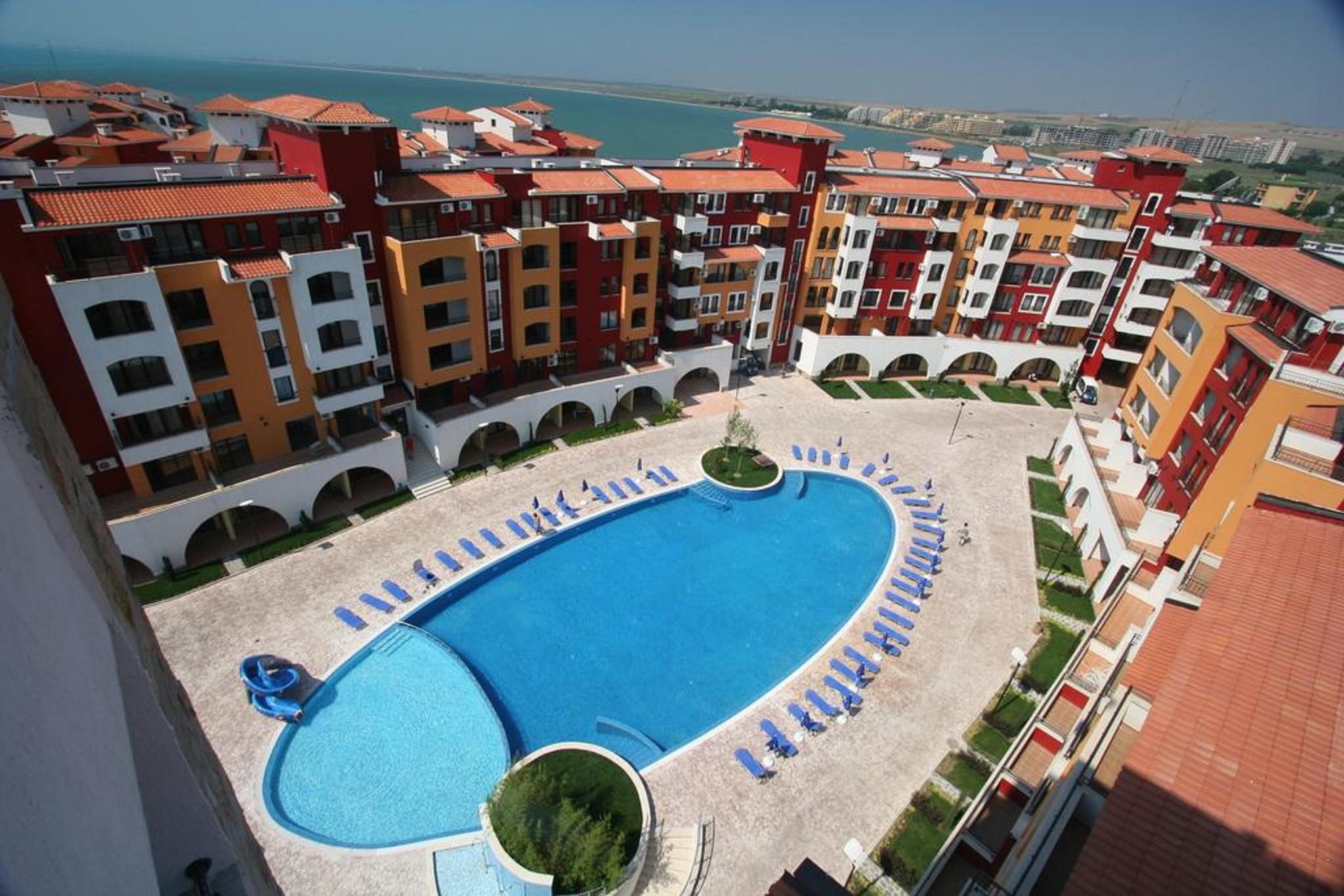 Menada Apartments in Marina Cape, Pomorie