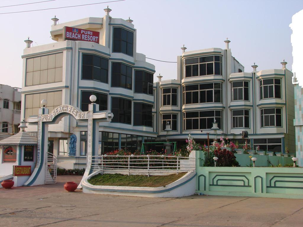 Hotel Puri Beach Resort En Orissa
